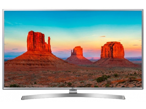 телевизор LG 50UK6550PLD, серый, вид 2