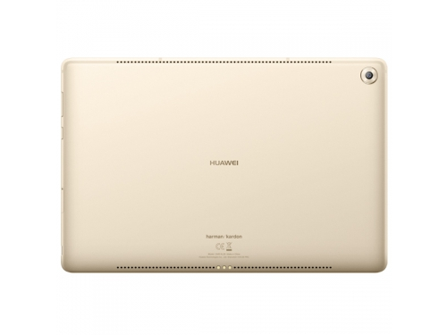 Планшет Huawei MediaPad M5 10 4/64Gb, золотистый, вид 2