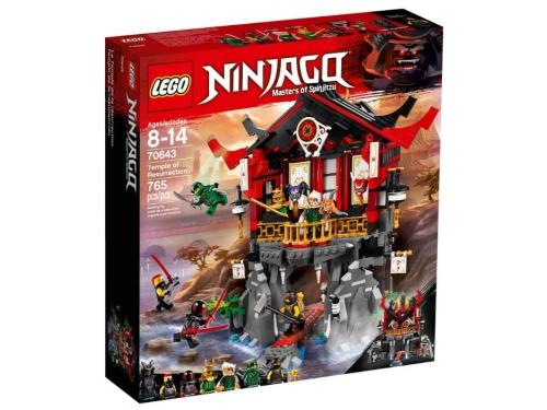 Конструктор Lego Ninjago, Храм воскресения (70643), вид 1