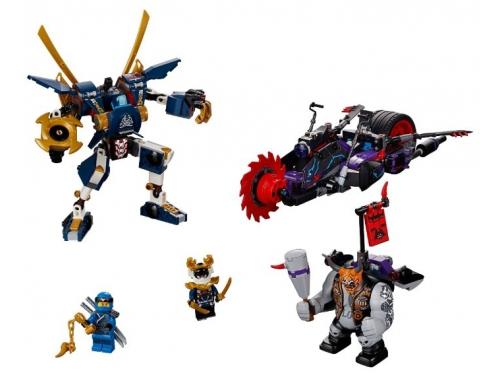 Конструктор Lego Ninjago 70642 Киллоу против Самурая Икс (для мальчика), вид 2
