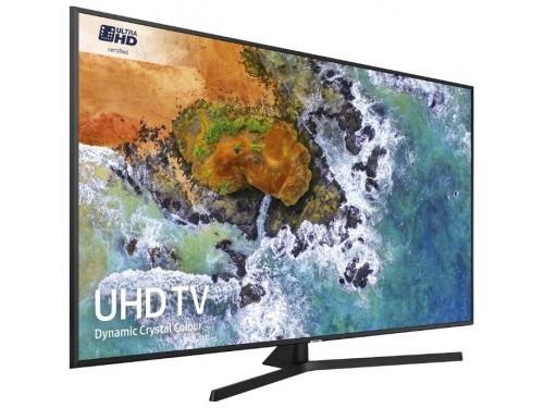 телевизор Samsung UE55NU7400U, черный, вид 1