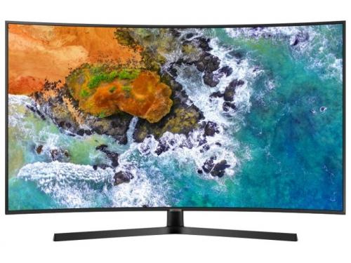 телевизор Samsung UE55NU7500U, черный, вид 2