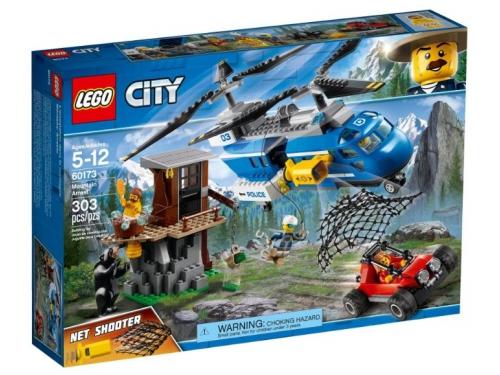 Конструктор Lego City, Погоня в горах (60173), вид 1
