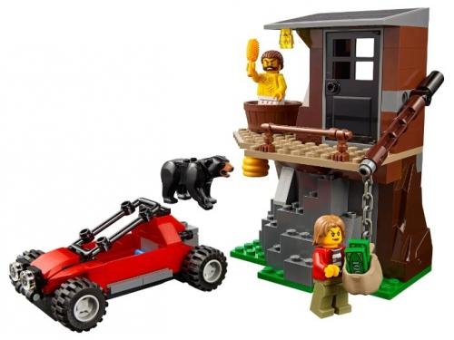 Конструктор Lego City, Погоня в горах (60173), вид 6