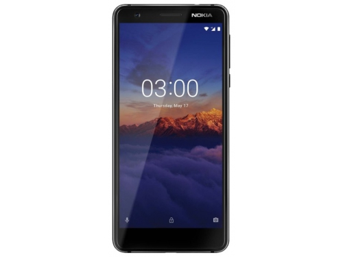 Смартфон Nokia 3.1 DS  2/16Gb, черный, вид 1