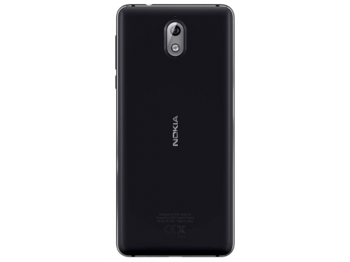 Смартфон Nokia 3.1 DS  2/16Gb, черный, вид 2