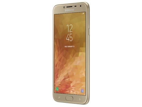 Смартфон Samsung Galaxy J4 (2018) SM-J400 3/32Gb, золотистый, вид 3