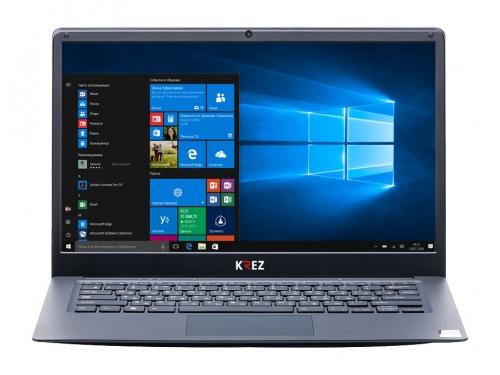 Ноутбук KREZ N1403S черный, вид 1