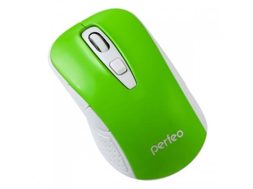 Мышь Perfeo PF-966-GN USB, зелёная, вид 1