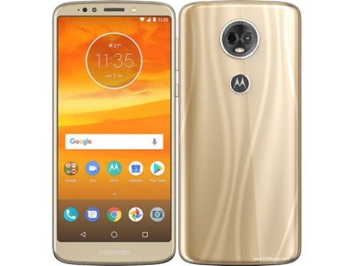 Смартфон Motorola E5 Plus XT1924-1 3/32Gb, золотистый, вид 4