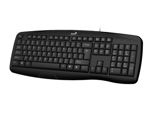 Клавиатура Genius KB-128 черная, вид 1