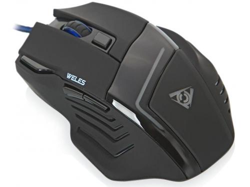 Мышка Qcyber Weles War Thunder (QC-02-003DV03) USB, лазерная, вид 3