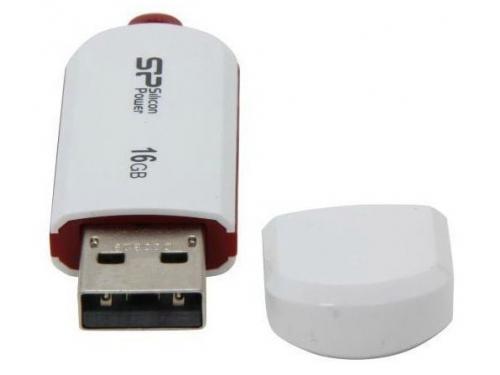 Usb-флешка Silicon Power LuxMini 320 16Gb, белая, вид 2