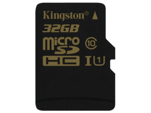 Карта памяти Kingston SDCA10/32GBSP (32Gb, microSDHC, Class10, UI), вид 1
