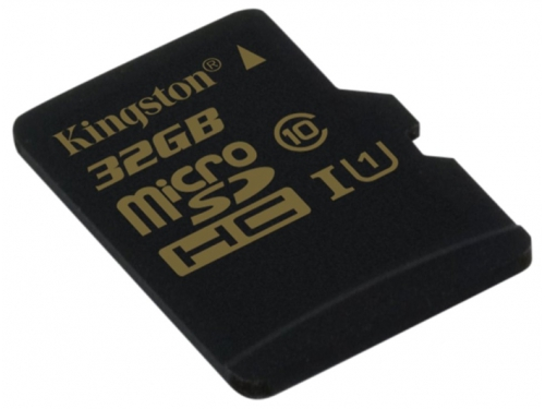 Карта памяти Kingston SDCA10/32GBSP (32Gb, microSDHC, Class10, UI), вид 2