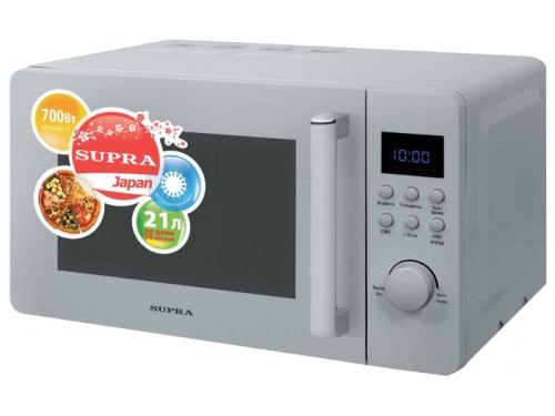 Микроволновая печь Supra MWS-2103TS, белая, вид 1