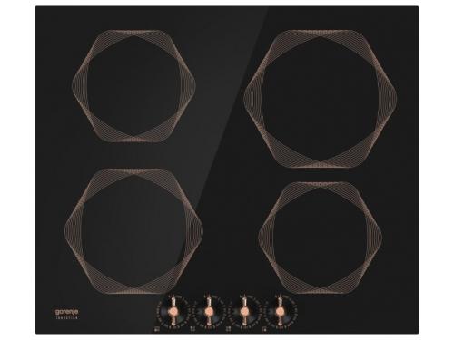 Варочная поверхность Gorenje Infinity IC6INB, черная, вид 1