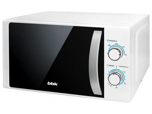 Микроволновая печь BBK 20MWS-711M/WS, белая/серебро, вид 1