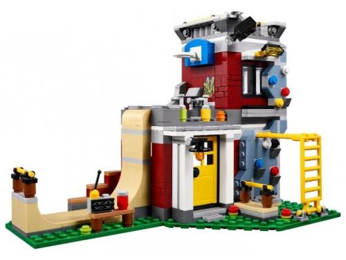 Конструктор LEGO Creator Скейт-площадка (модульная сборка) 31081, вид 1