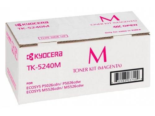 Картридж для принтера Kyocera TK-5240M Пурпурный, вид 1