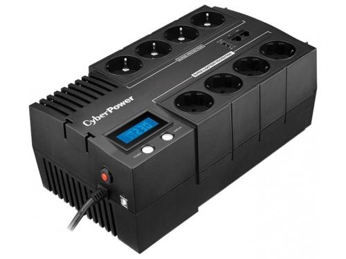Источник бесперебойного питания CyberPower BR700ELCD 700VA/420W (4+4 Euro), вид 1