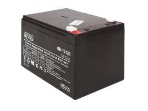 Батарея аккумуляторная для ИБП Ginzzu  GB-12120 12V 12A\h, вид 1