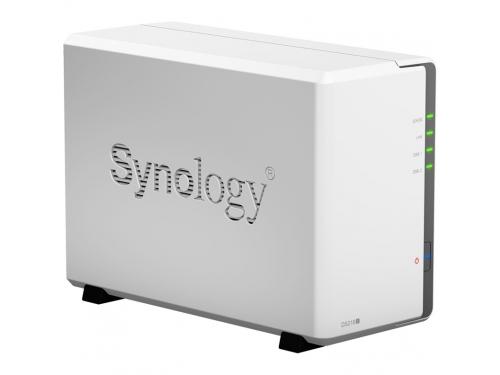 Сетевой накопитель Synology DS218J 2Bay, вид 1