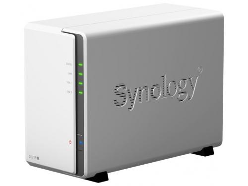 Сетевой накопитель Synology DS218J 2Bay, вид 2