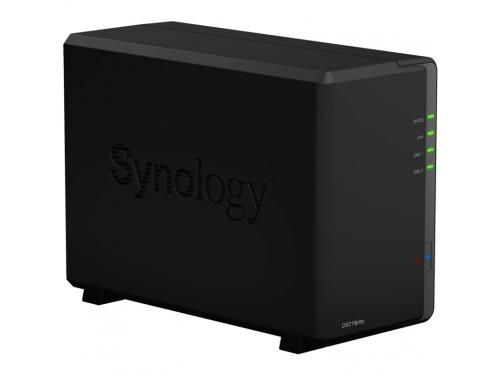 Сетевой накопитель Synology DS218PLAY 2Bay, вид 1