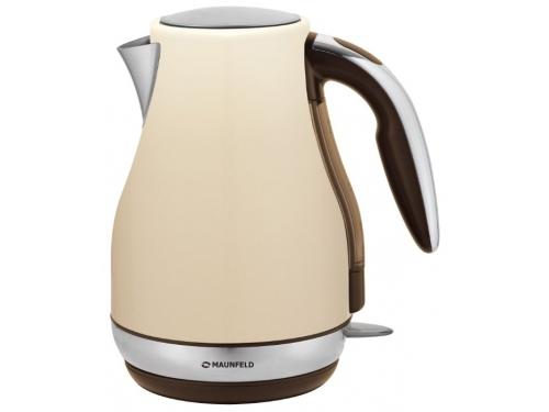 Чайник электрический Maunfeld MFK-794BK, бежевый, вид 1