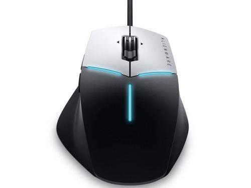 Мышь Dell AW558 Alienware Core Gaming серо-черная, вид 3
