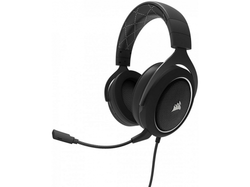 Гарнитура для ПК Corsair HS60 Stereo Gaming Headset white, черные с белым, вид 2