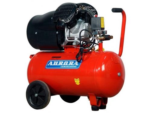 Компрессор автомобильный Aurora GALE-50, красный, вид 1