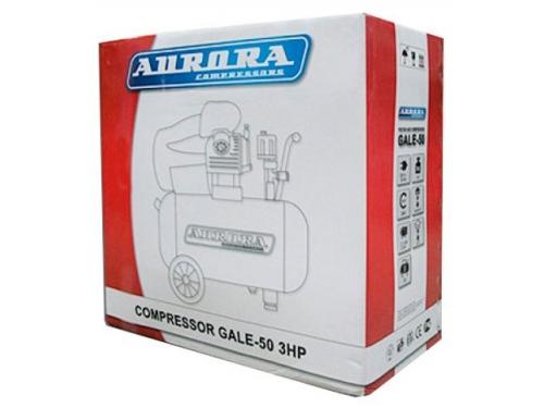 Компрессор автомобильный Aurora GALE-50, красный, вид 3