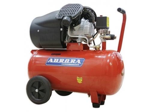 Компрессор автомобильный Aurora GALE-50, красный, вид 4