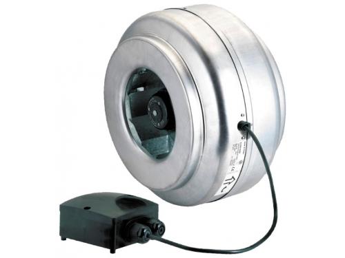 Вентилятор бытовой Soler & Palau VENT-200L (канальный) серый, вид 1