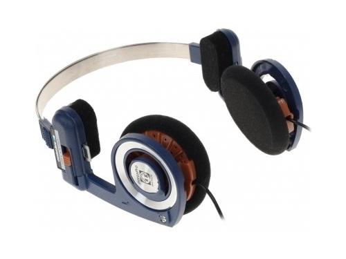 Наушники Koss Porta Pro Casual, черно-голубые, вид 1