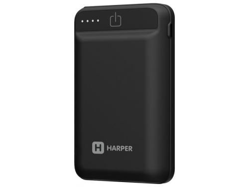 Аккумулятор универсальный Harper PB-2612 12000 мАч, черный, вид 3