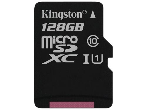 Карта памяти Kingston SDCS 128GB черная, вид 1