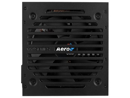 Блок питания компьютерный AeroCool VX Plus 500W ATX12V 2.3, fan 12 cm, вид 1