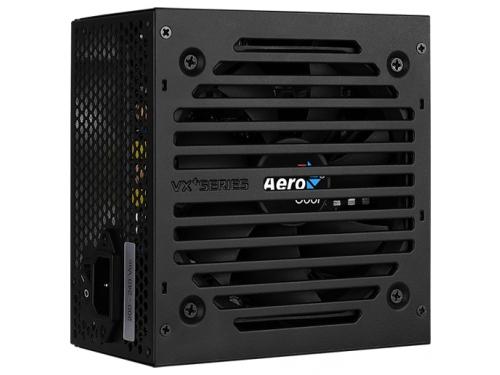 Блок питания компьютерный AeroCool VX Plus 500W ATX12V 2.3, fan 12 cm, вид 2
