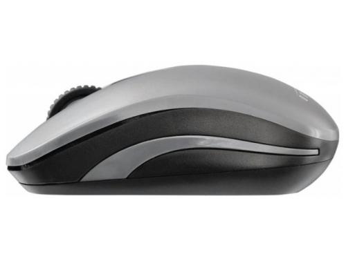 Мышь Oklick 445MW USB черная/серая, вид 4