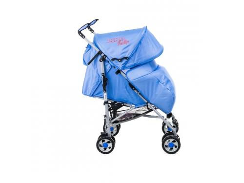 Коляска LikoBaby City Style BT109 голубая, вид 6