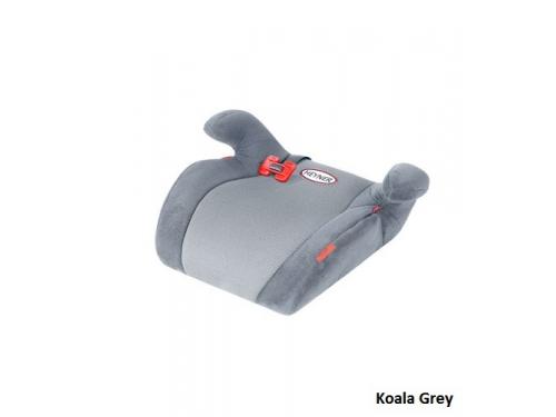 Автокресло детское Heyner SafeUp Ergo M (бустер), Koala Grey, вид 4