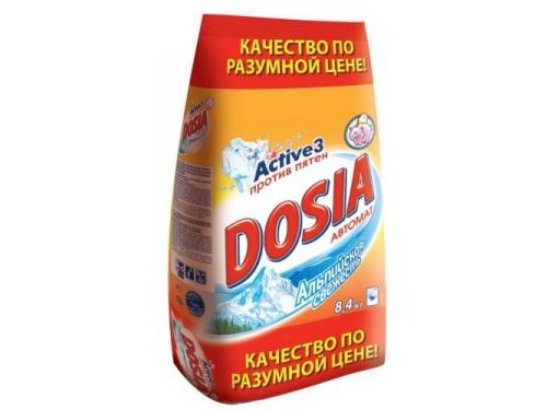 Средство для стирки Порошок Dosia Альпийская свежесть (автомат) 8,4 кг, вид 1