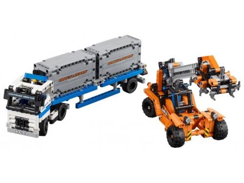 Конструктор LEGO Technic Контейнерный терминал, вид 1