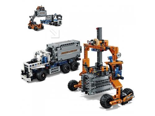 Конструктор LEGO Technic Контейнерный терминал, вид 6