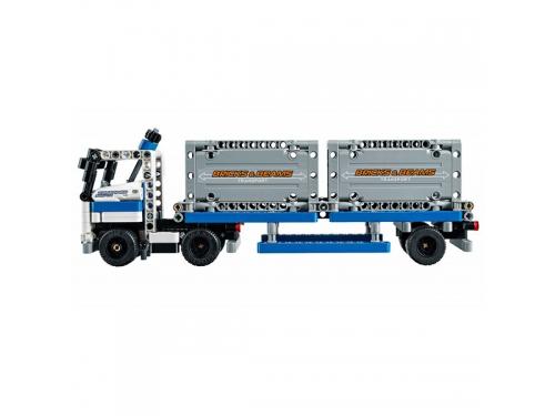 Конструктор LEGO Technic Контейнерный терминал, вид 8