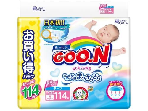 Подгузник Goo.N Ultra Jumbo Pack (до 5 кг) NB, вид 2