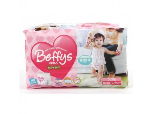 Подгузник Beffy's extra soft д/девочек XL 13-18кг/32шт, вид 2